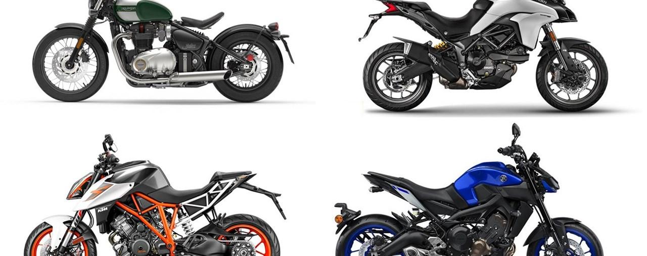 Motorradtests bis Weihnachten 2016