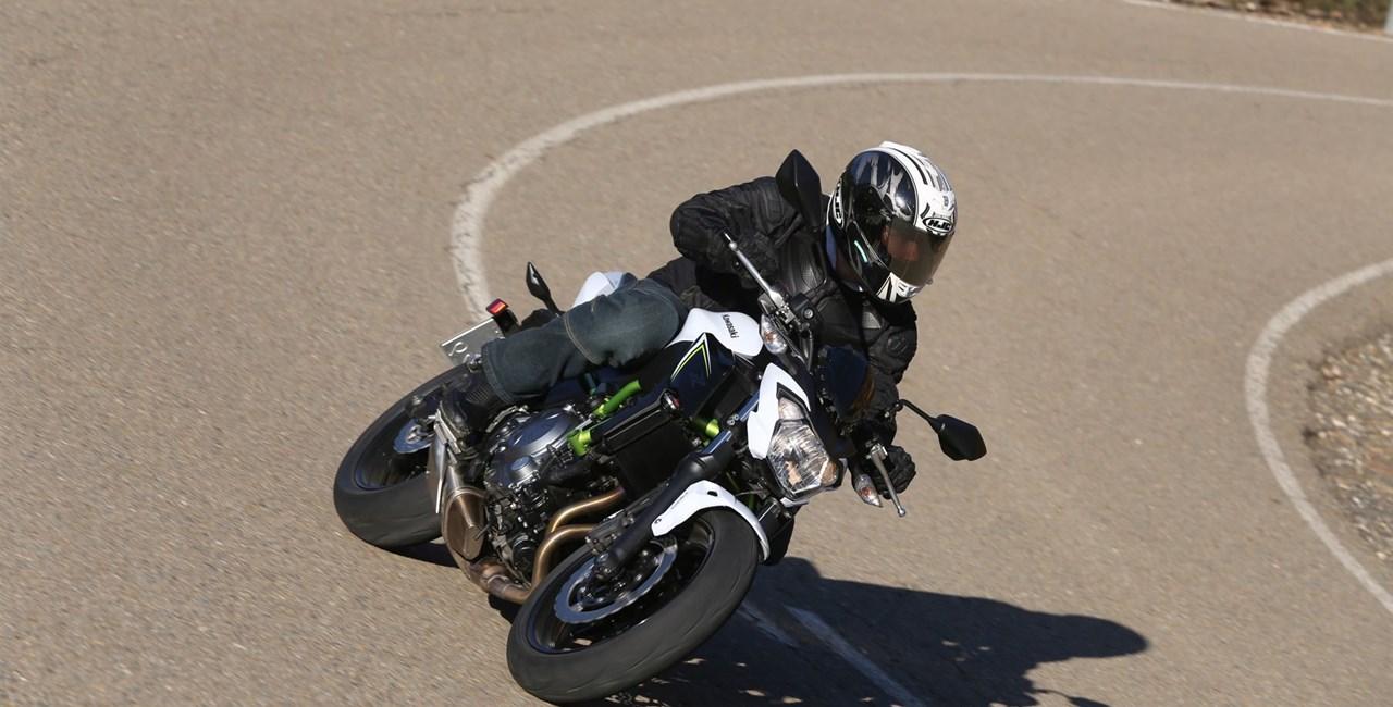 Kawasaki Z 650 Test
