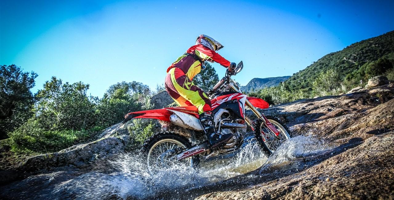 Honda CRF 450R und CRF450RX 2017 Test