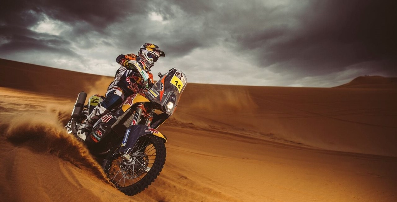 Dakar Start mit Walkner