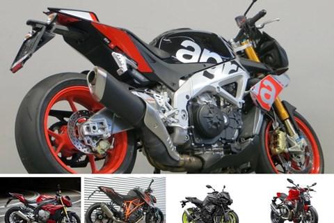 Top 5: Die schnellsten Nakedbikes für die Rennstrecke