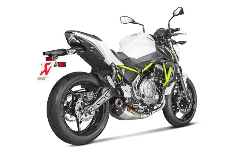 Akrapovič Abgassystem für Kawasaki Ninja 650 und Z650