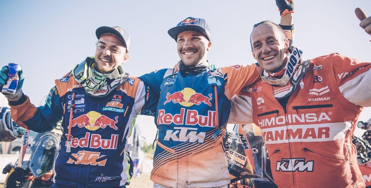 16. Dakar-Sieg in Folge