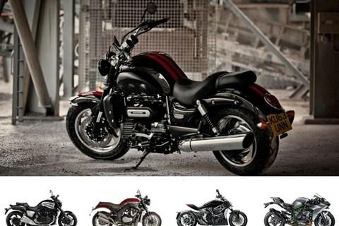 Top 5:  Die extremsten Motorräder der Welt