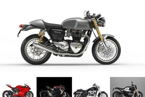 Top 5: Die schönsten Motorräder
