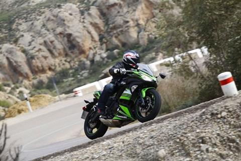 Kawasaki Ninja 650 Test 2017