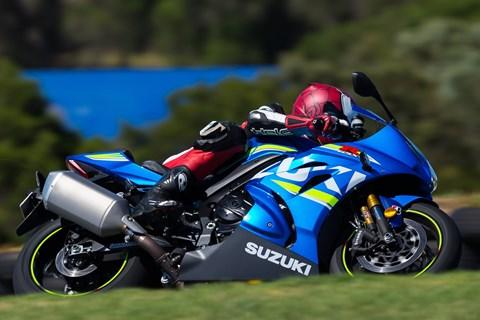 Suzuki GSX-R 1000 R Test