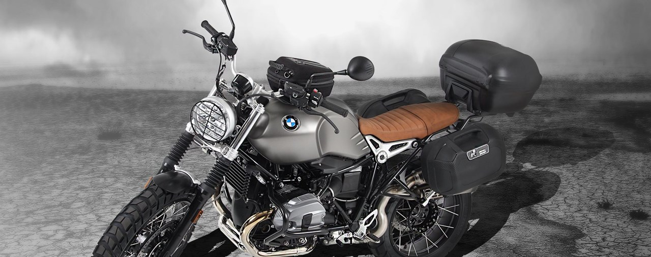 neues hepco becker zubeh r f r die bmw r ninet scrambler. Black Bedroom Furniture Sets. Home Design Ideas