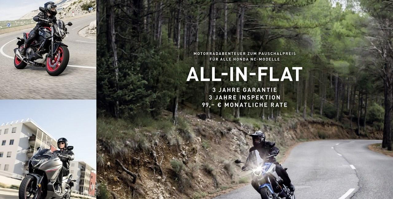 Honda ALL-IN-FLAT