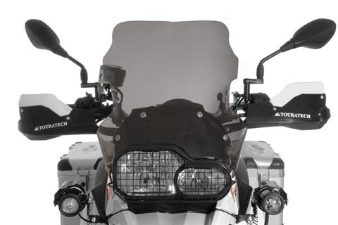Ein Plus an Aerodynamik und Fahrkomfort:Windschilde von Touratech