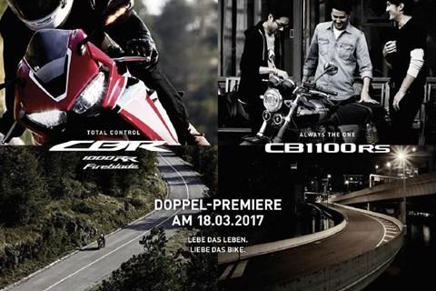 Honda Doppelpremiere am 18. März