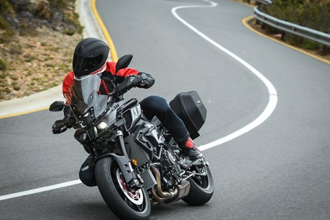 Yamaha MT-10 Tourer Edition Test