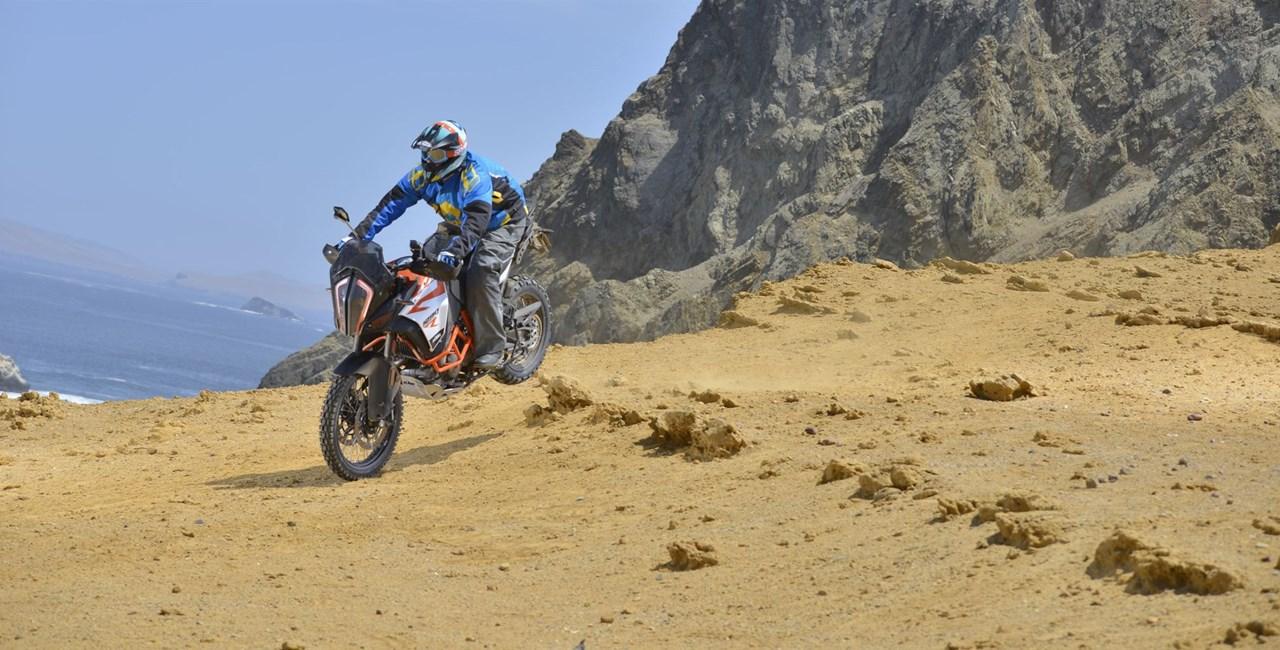 KTM 1290 Super Adventure R Test 2017 in Peru