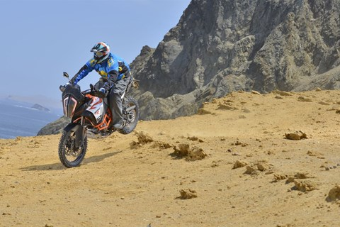KTM 1290 Super Adventure R Test 2017 in Peru