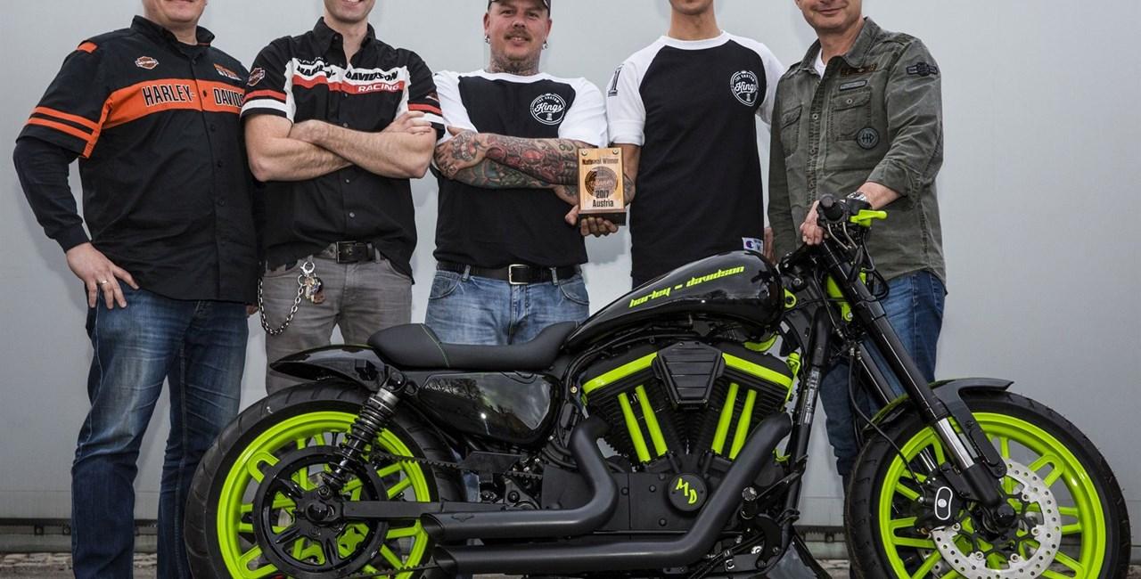 "Harley-Davidson Linz wurde  zum österr. ""Custom King"" gekrönt"