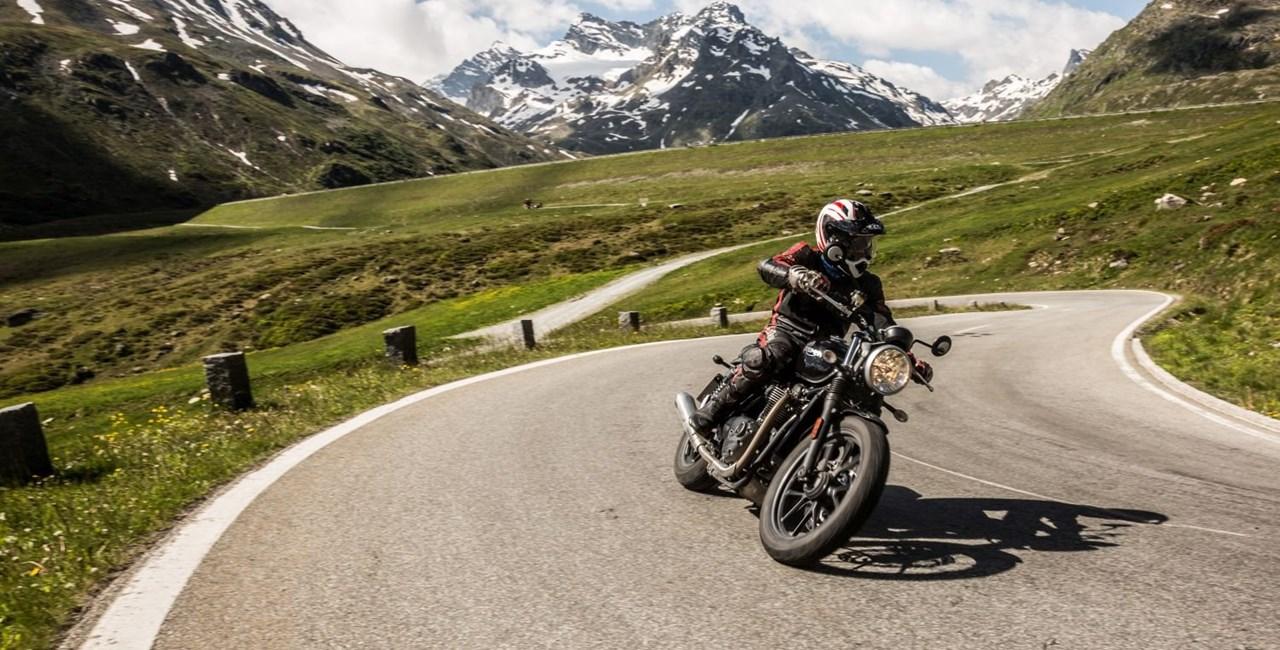 Motorrad-Gipfeltreffen in Ischgl