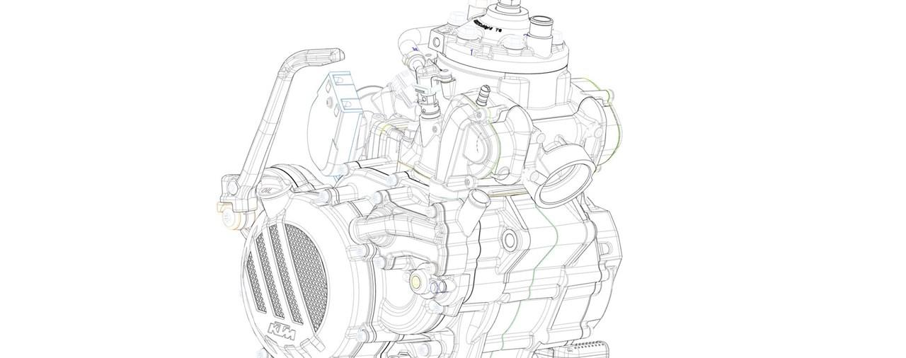 KTM Zweitakt-Enduros mit Einspritzung