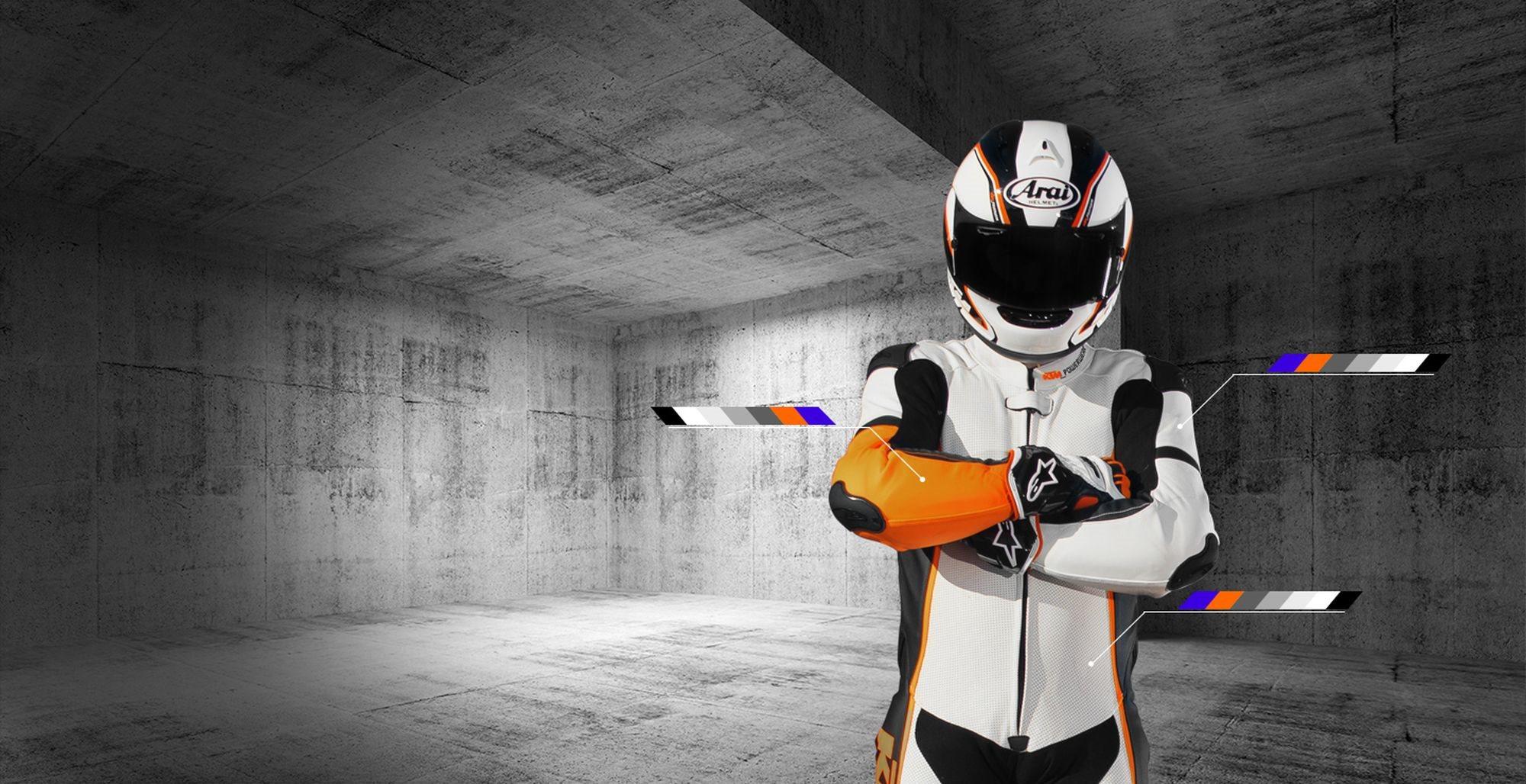 Online zur Maßgeschneiderten KTM Lederkombi von Gimoto