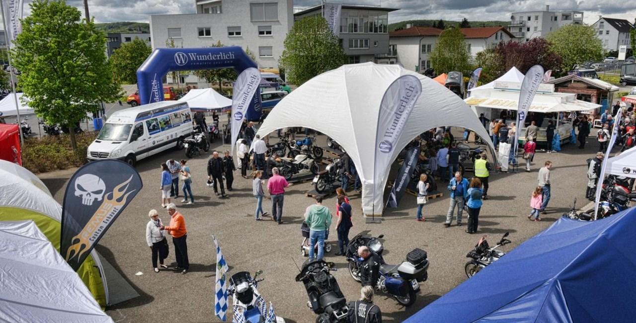 Wunderlich-Anfahrt 2017 am 20. und 21. Mai