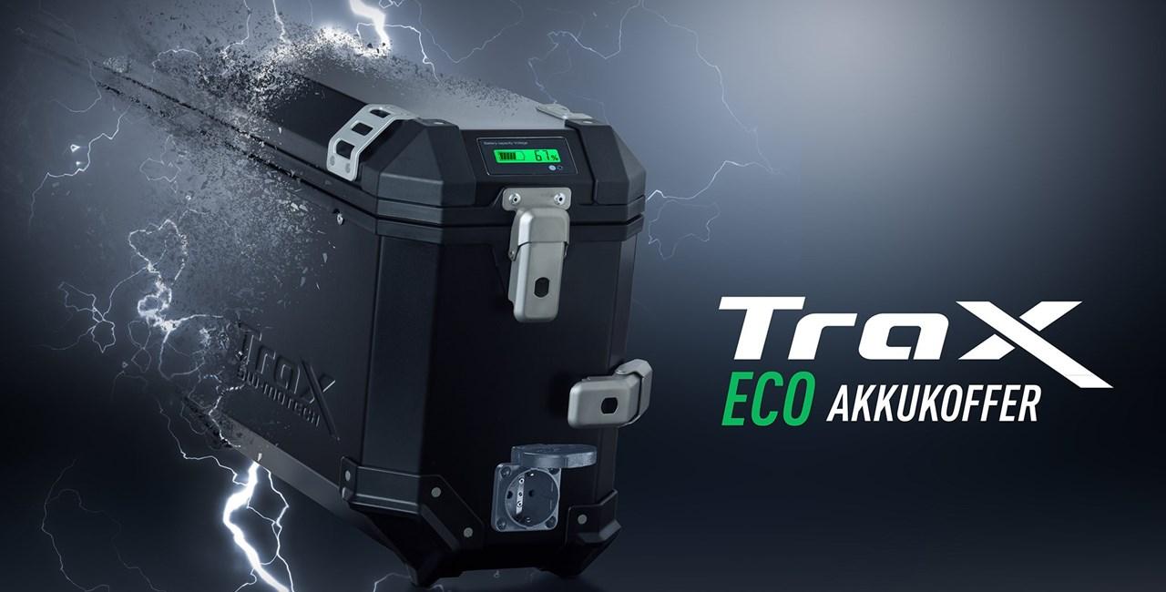 Der TRAX ECO Akkukoffer von SW-MOTECH