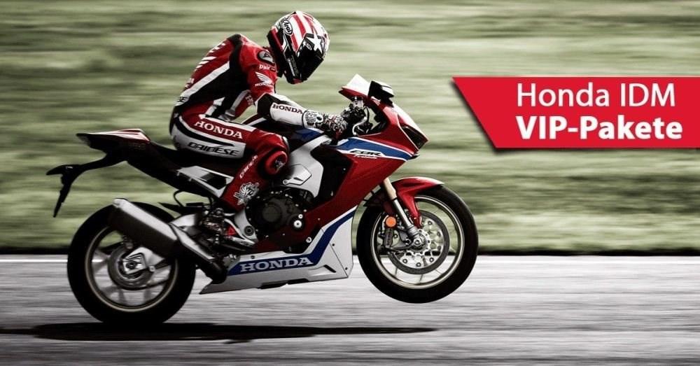 Mit Honda Deutschland als VIP zu Gast bei der Superbike IDM 2017