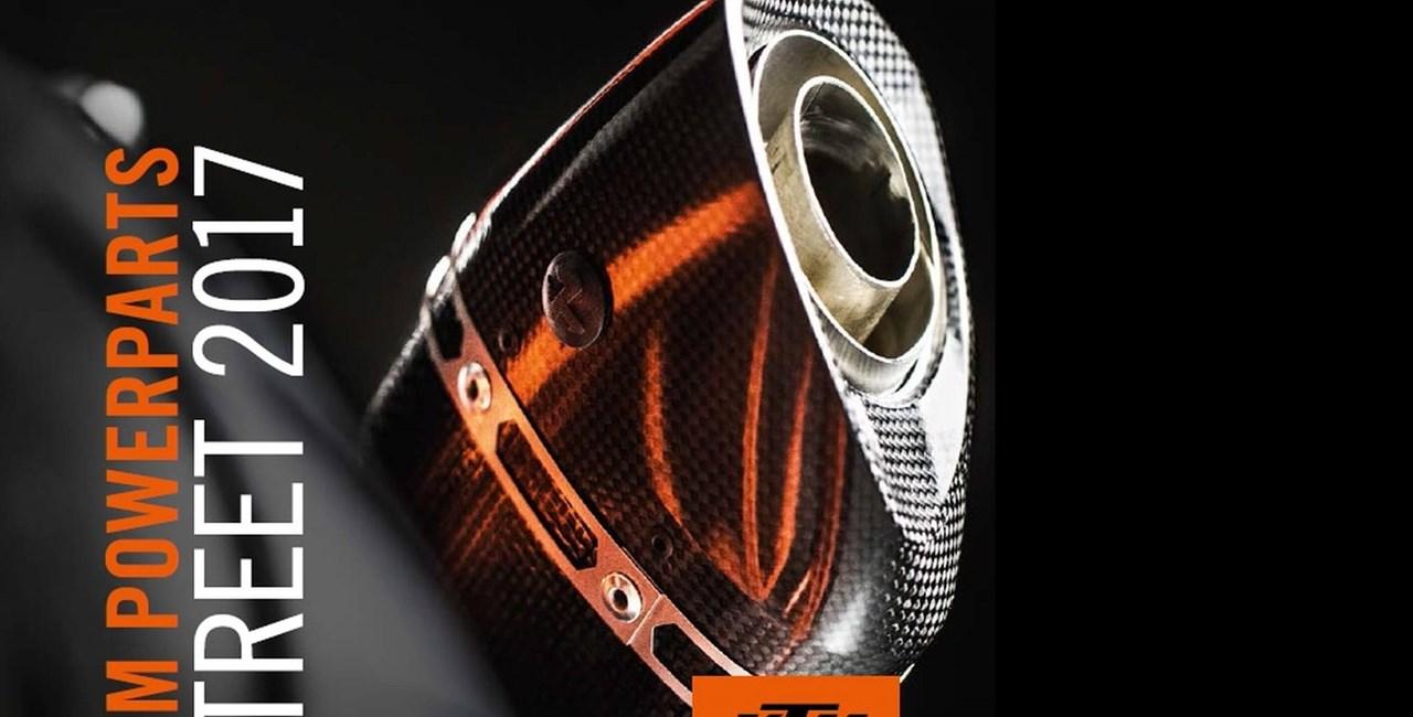 KTM Powerwear & Powerparts Street 2017