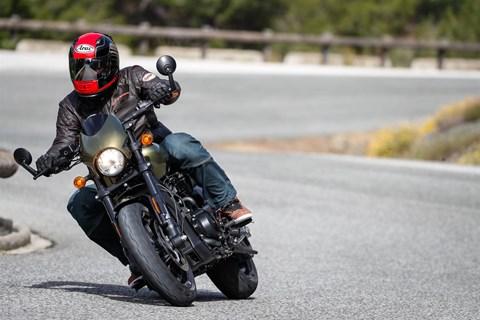Harley Davidson Street Rod 2017 Test