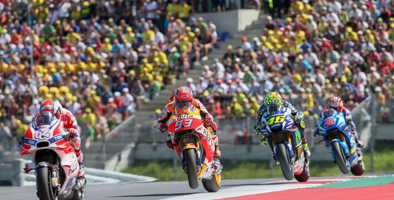 Motorrad Grand Prix von Österreich 2017