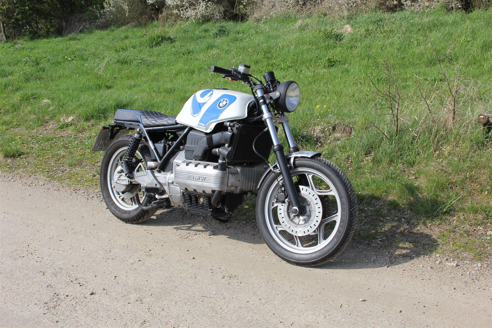 Bmw K100rs Cafe Racer Umbau Von Hornig Motorrad News