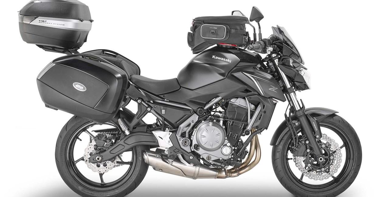 GIVI Parts für Kawasaki Z 650 (Baujahr 2017)