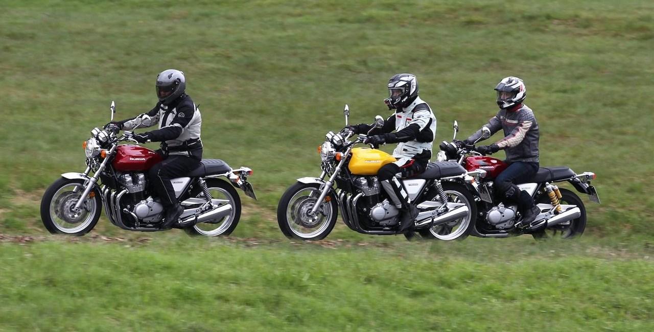 Honda CB1100 EX und CB1100 RS 2017 Test