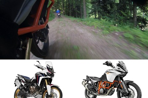Honda Africa Twin vs KTM 1090 Adventure R