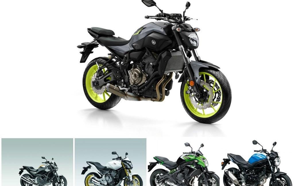 Top 5: Günstige A2 Allround Motorräder
