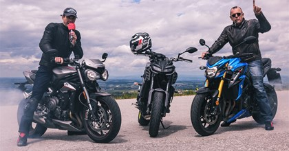 MT09 vs Street Triple RS vs GSX-S 750