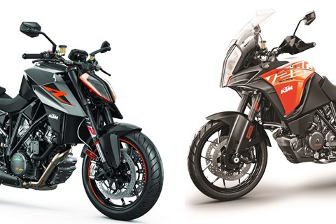 KTM Super Duke R und Super Adventure S Test 2017