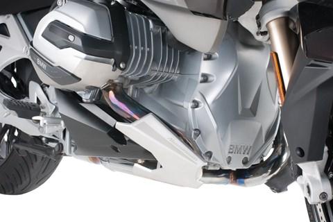 Auspuffschutz für BMW R 1200 RT, LC (2014-) von Hornig