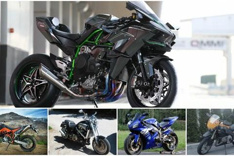 Top 5: Die furcherregendsten Motorräder
