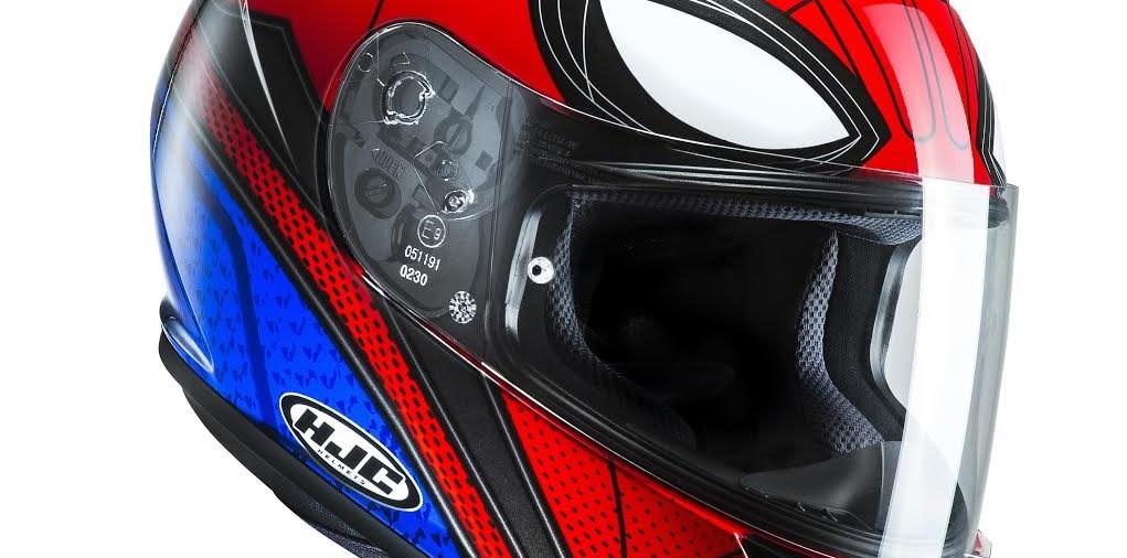 Neuer Spiderman-Helm von HJC