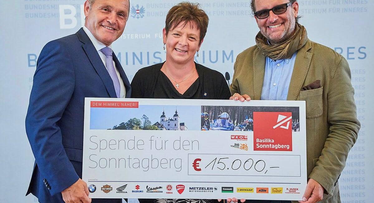 Österreichs größte Motorrad-Sternfahrt