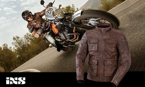 Neue Vintage Motorradbekleidung von iXS