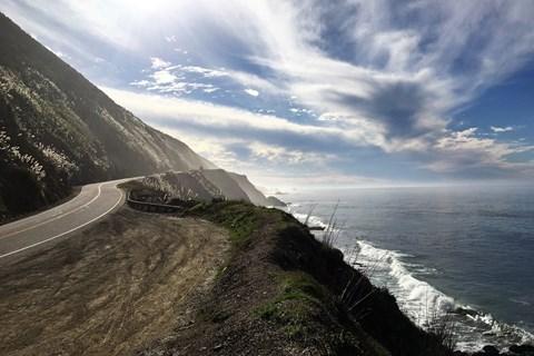 Solo-Motorradtour in Kalifornien, dem Highway 1 entlang