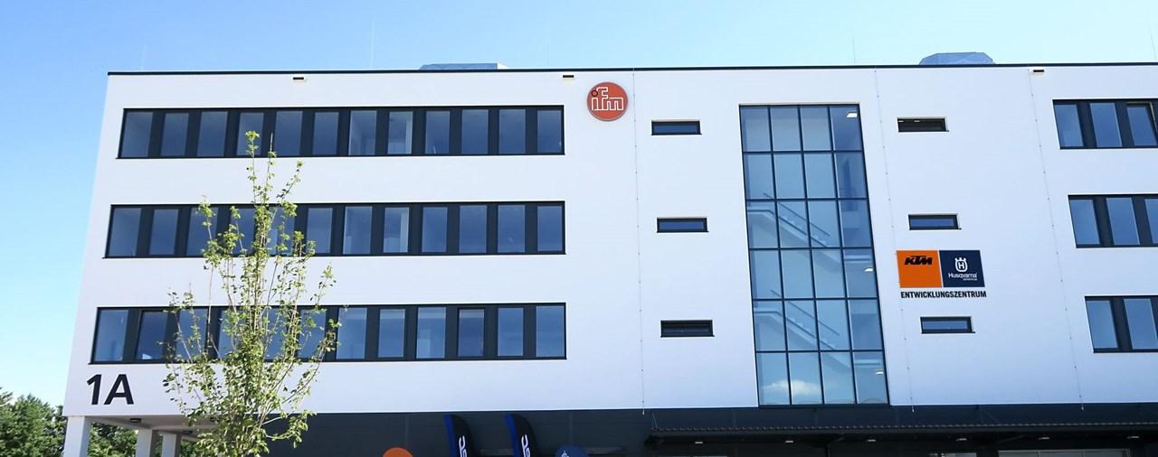 Eröffnung des KTM Entwicklungszentrums Rosenheim