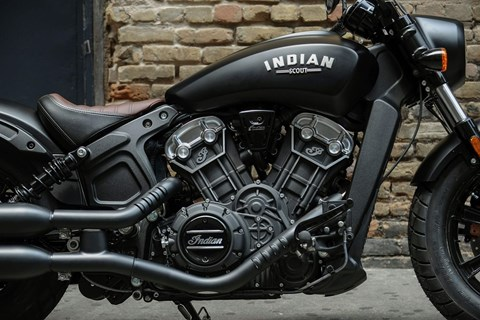 INDIAN Scout Bobber vereint puristisches Design und Sportsgeist