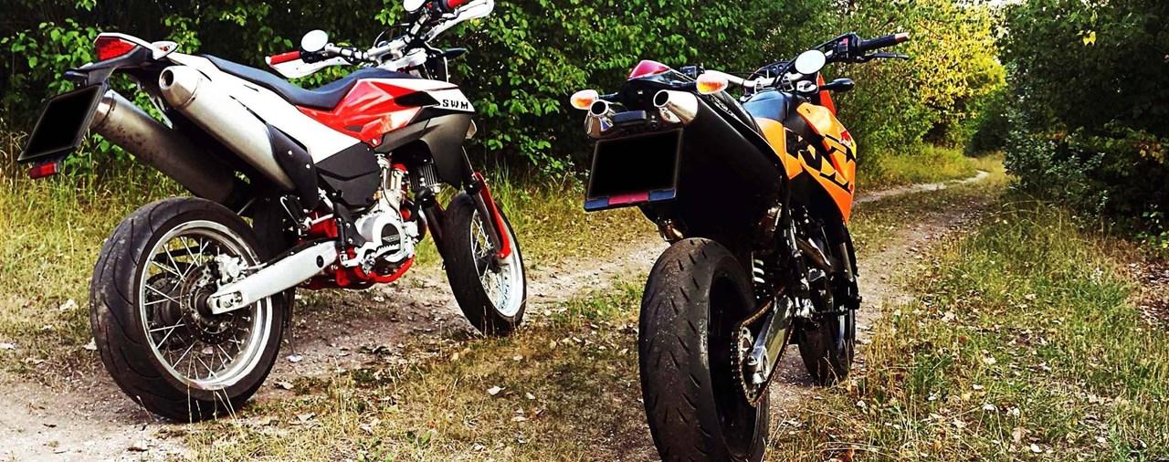 Michelin Power RS Test auf KTM Duke 2 im Strassenbetrieb
