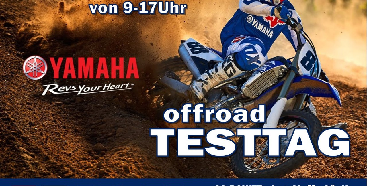 GS-Power Yamaha Testtag 2017