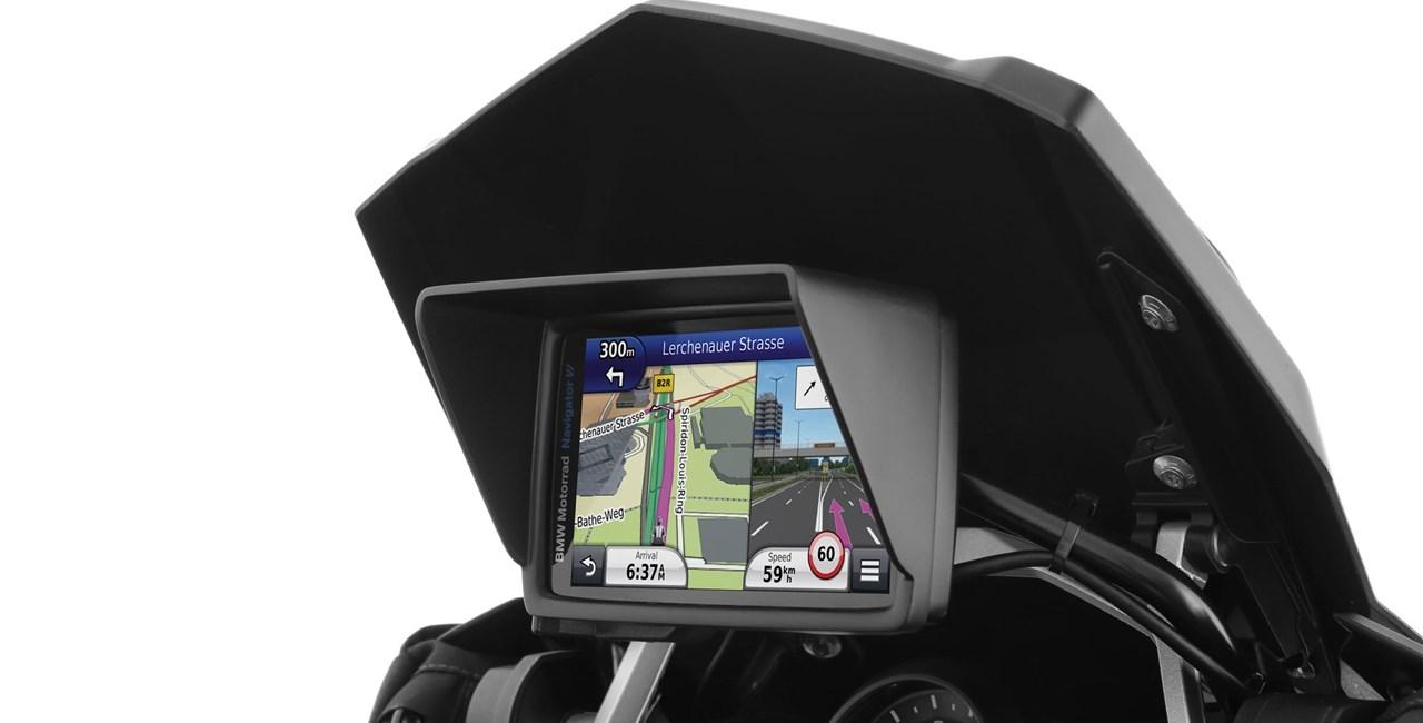Wunderlich Blendschutz für BMW Navigator VI