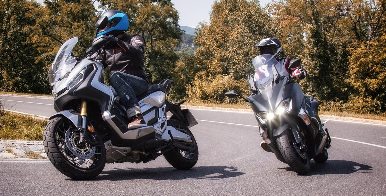 Honda X-ADV vs. Yamaha TMAX SX Vergleich 2017