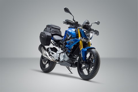 BMW G 310 R im SW-MOTECH Look