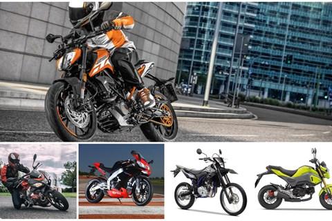 Top 5: Sportliche 125er Motorräder