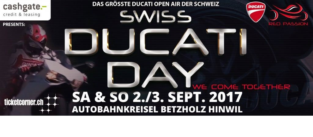 Ducati Day mit Big Shows